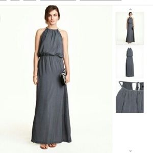 Slate H&M maxi / evening gown